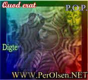 Dette billed linker til Per Olsens kunstneriske produktion.